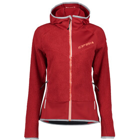 Icepeak Dahlen Midlayer Jacket Women, rood